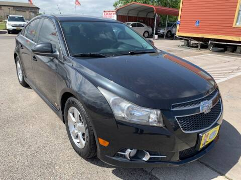 2013 Chevrolet Cruze for sale at JAVY AUTO SALES in Houston TX