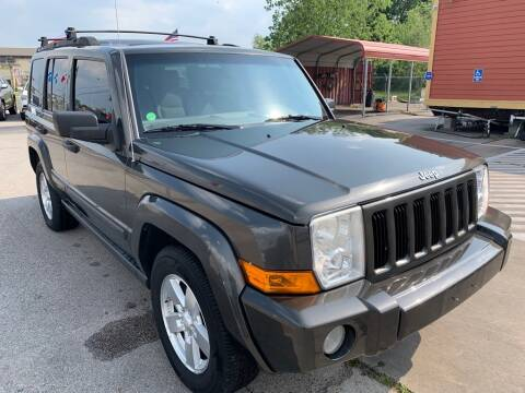 2006 Jeep Commander for sale at JAVY AUTO SALES in Houston TX