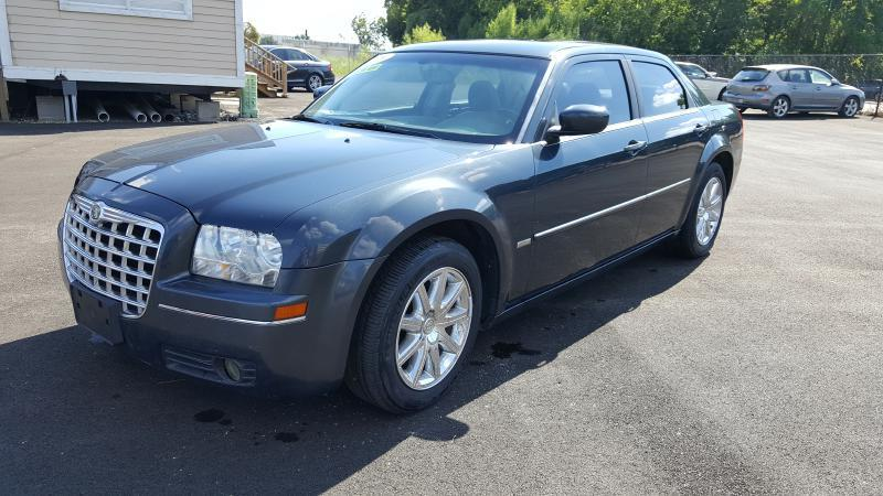 2008 CHRYSLER 300 TOURING 4DR SEDAN blue air conditioning power windows power locks power stee