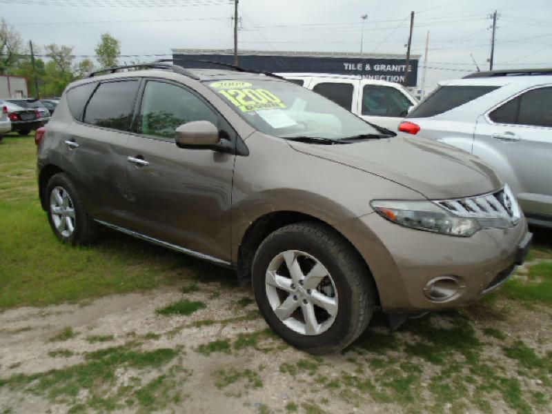 2009 NISSAN MURANO S 4DR SUV brown air conditioning power windows power locks power steering t
