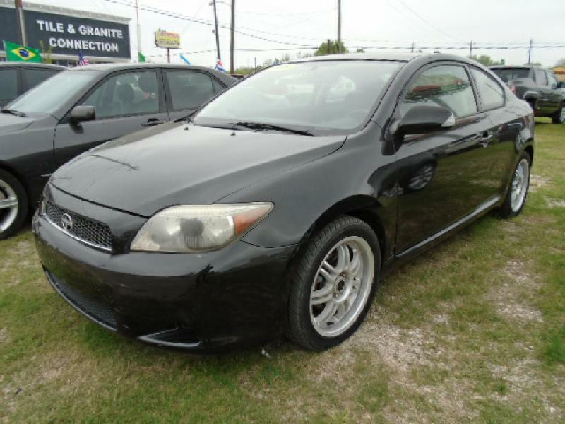 2005 SCION TC BASE 2DR HATCHBACK black air conditioning power windows power locks power steeri