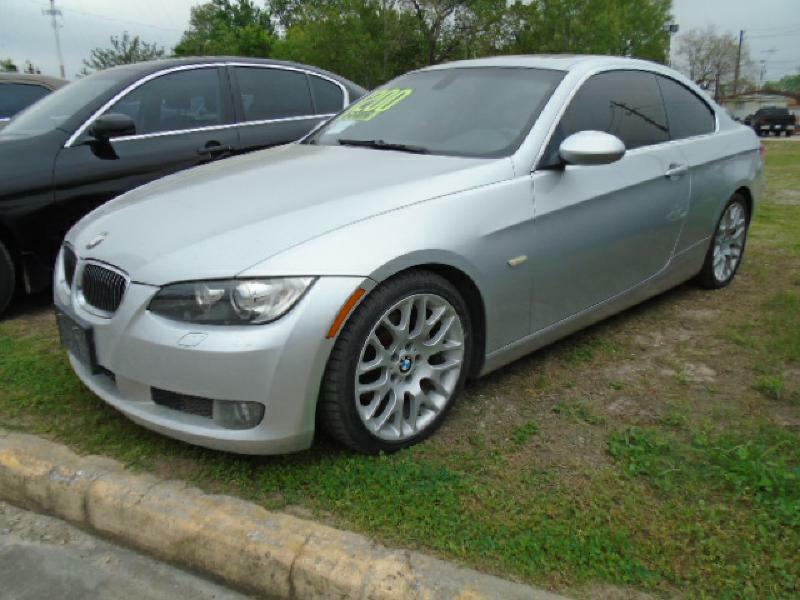 2007 BMW 3 SERIES 328I 2DR COUPE silver air conditioning power windows power locks power steer
