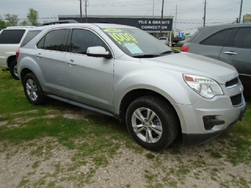 2010 CHEVROLET EQUINOX LT 4DR SUV W1LT silver air conditioning power windows power locks powe