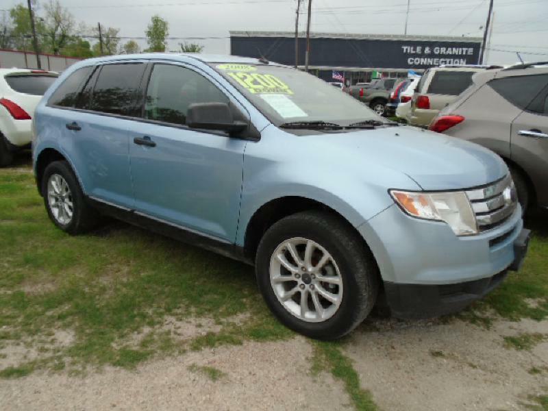 2008 FORD EDGE SE 4DR SUV blue air conditioning power windows power locks power steering tilt