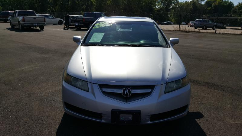 2005 ACURA TL silver air conditioning power windows power locks power steering tilt wheel am