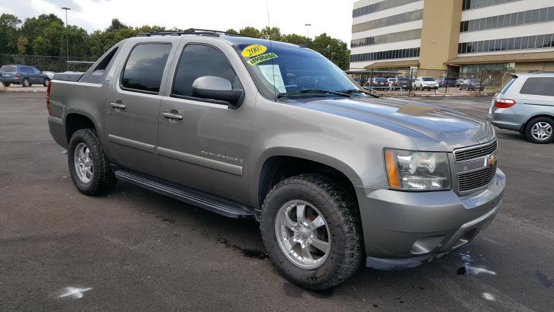 2007 CHEVROLET AVALANCHE 1500 gray air conditioning power windows power locks power steering t
