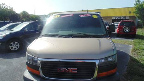2013 GMC Savana Passenger for sale in Stuart, FL
