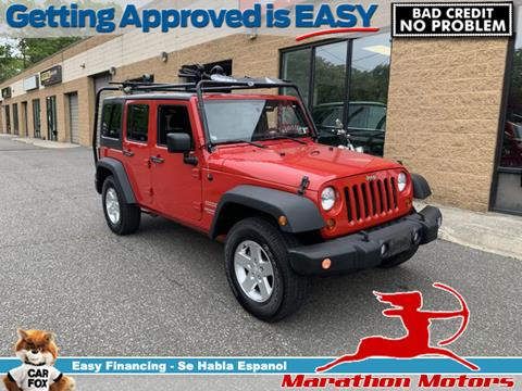 2011 Jeep Wrangler Unlimited for sale in Saint James, NY