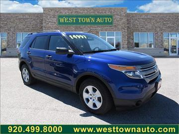 2013 Ford Explorer for sale in Green Bay WI