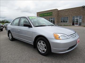 2002 Honda Civic for sale in Green Bay WI