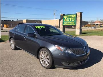2014 Lincoln MKS for sale in Green Bay WI