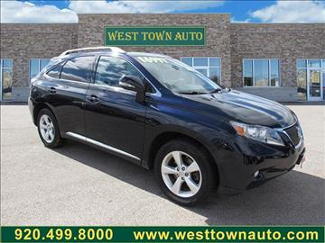 2010 Lexus RX 350 for sale in Green Bay WI