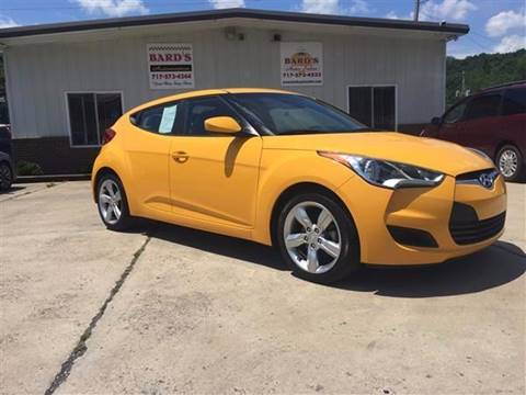 2015 Hyundai Veloster for sale at BARD'S AUTO SALES in Needmore PA