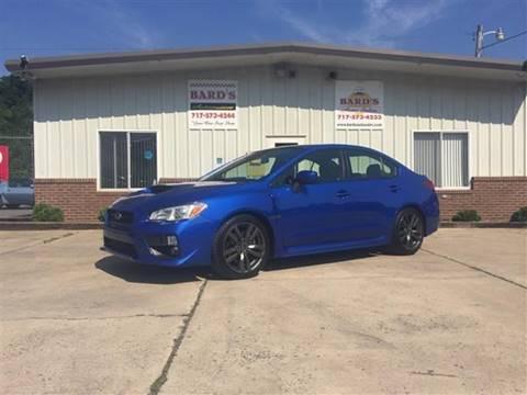 2016 Subaru WRX for sale at BARD'S AUTO SALES in Needmore PA
