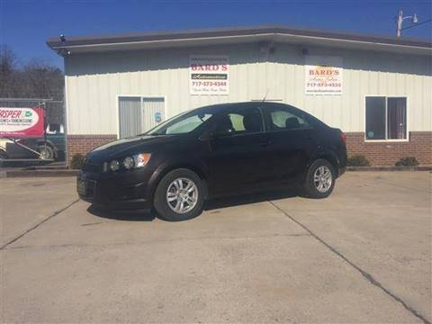 2013 Chevrolet Sonic for sale at BARD'S AUTO SALES in Needmore PA