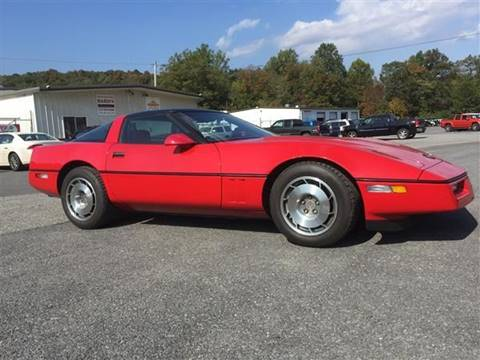 1987 Chevrolet Corvette for sale at BARD'S AUTO SALES in Needmore PA