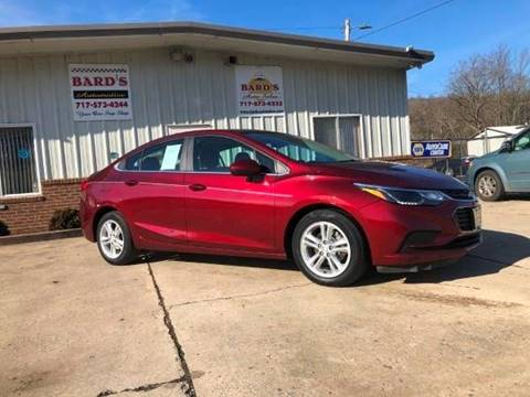 2016 Chevrolet Cruze for sale at BARD'S AUTO SALES in Needmore PA
