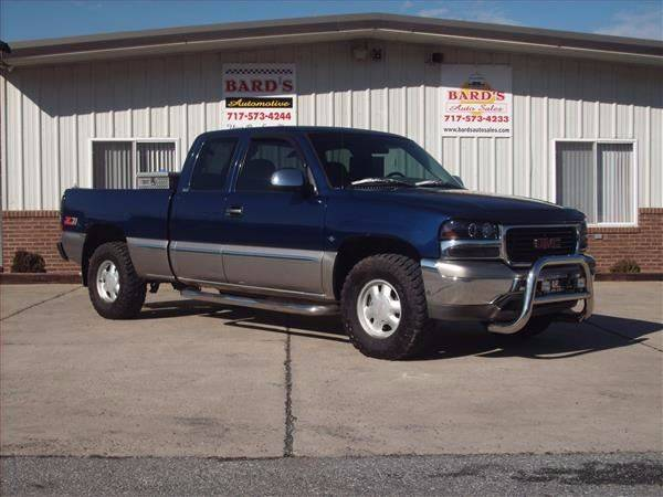 2000 GMC Sierra 1500 3dr SLE 4WD Extended Cab SB - Needmore PA