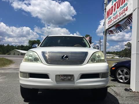 2004 Lexus GX 470 for sale in Panama City Beach, FL