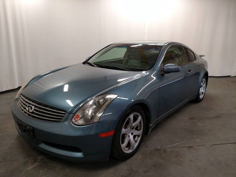 2005 Infiniti G35 Rwd 2dr Coupe - Cockeysville MD