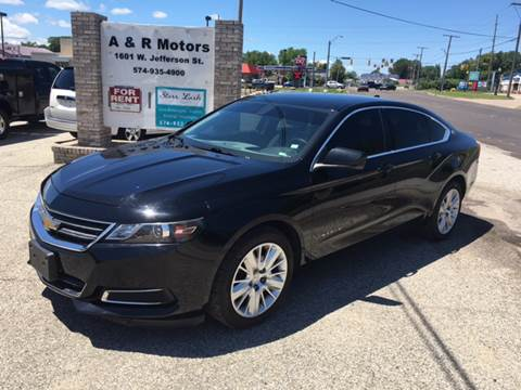 2014 Chevrolet Impala for sale in Plymouth, IN