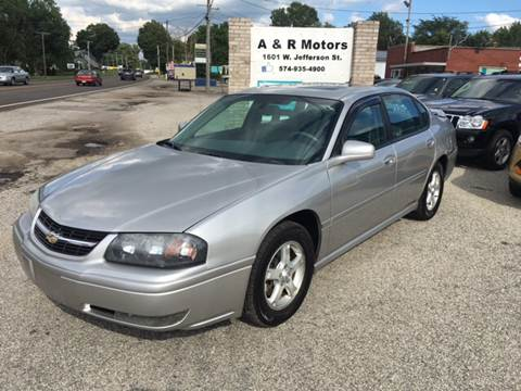 2005 Chevrolet Impala for sale in Plymouth, IN