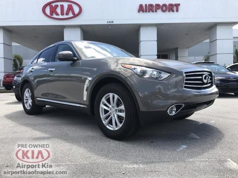 2016 Infiniti QX70 for sale in Naples, FL