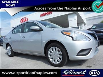 2016 Nissan Versa for sale in Naples, FL