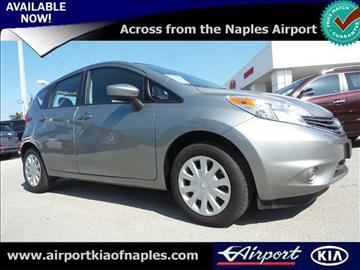 2015 Nissan Versa Note for sale in Naples, FL