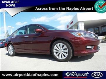 2015 Honda Accord for sale in Naples, FL