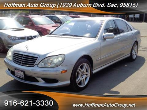 2003 Mercedes-Benz S-Class for sale in Sacramento, CA