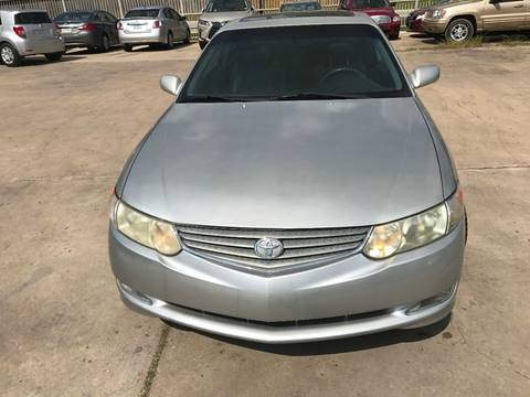 2002 Toyota Camry Solara for sale in Houston, TX