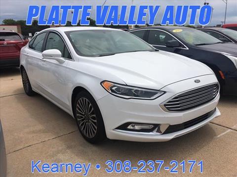 2017 Ford Fusion for sale in Kearney NE