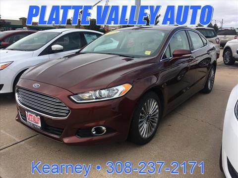 2015 Ford Fusion for sale in Kearney, NE