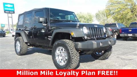 2014 Jeep Wrangler Unlimited for sale in Vinita, OK