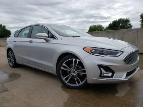 2019 Ford Fusion for sale at BOB HART CHEVROLET in Vinita OK