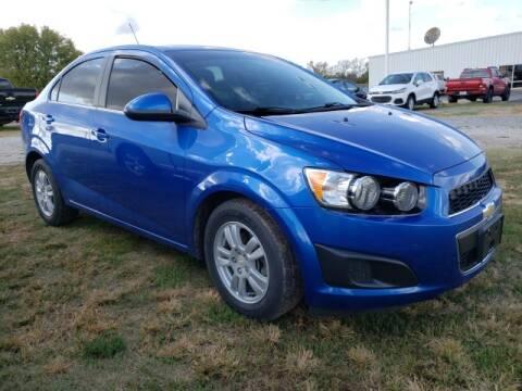 2016 Chevrolet Sonic for sale at BOB HART CHEVROLET in Vinita OK