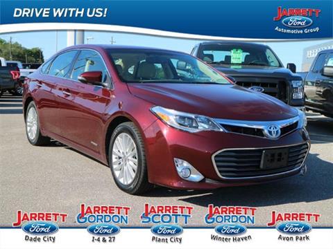 2013 Toyota Avalon Hybrid for sale in Davenport, FL