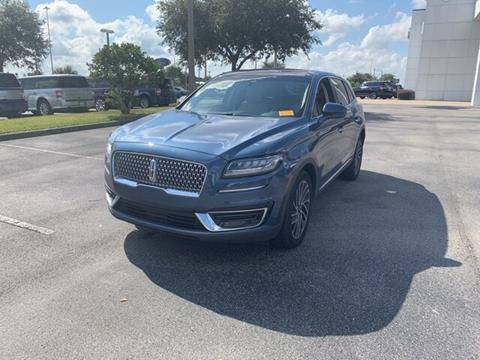 2019 Lincoln Nautilus for sale in Davenport, FL