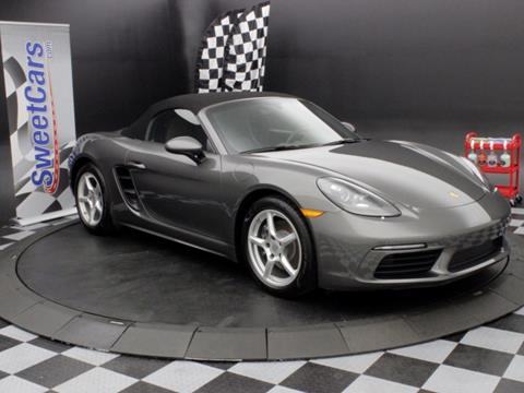 2017 Porsche 718 Boxster for sale in Fort Wayne IN