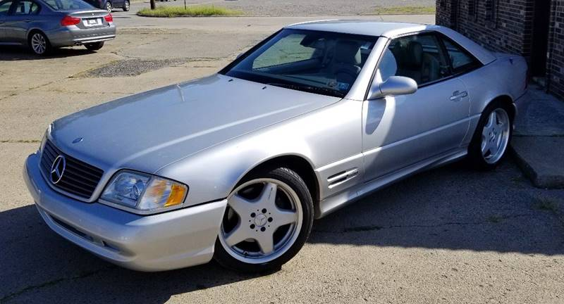 2000 Mercedes Benz SL Class For Sale At SUPERIOR MOTORSPORT INC. In New