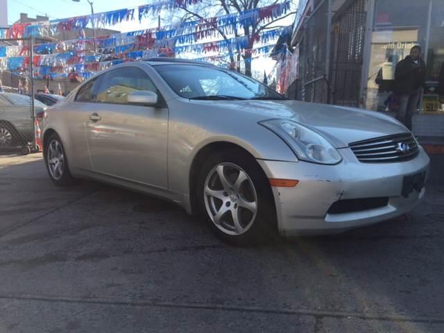 2007 Infiniti G35 2dr Coupe (3.5L V6 5A) - Irvington NJ