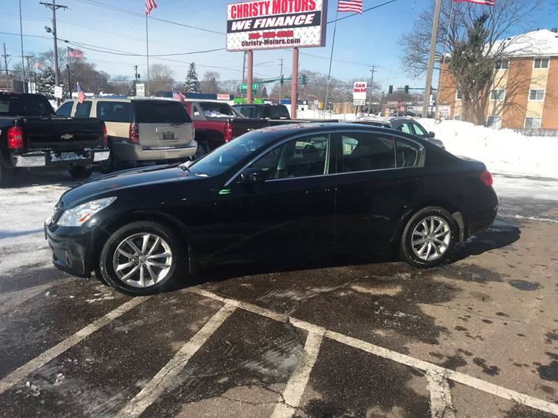 Superieur 2009 Infiniti G37 Sedan For Sale At Christy Motors In Crystal MN
