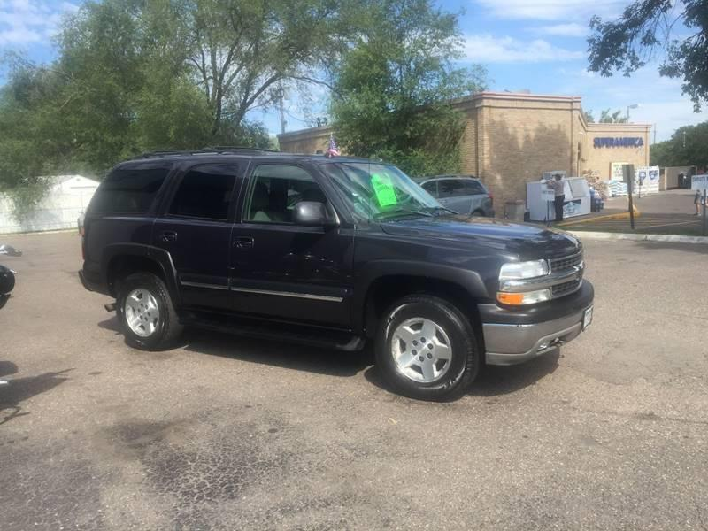 2005 Chevrolet Tahoe LT 4WD 4dr SUV - Crystal MN