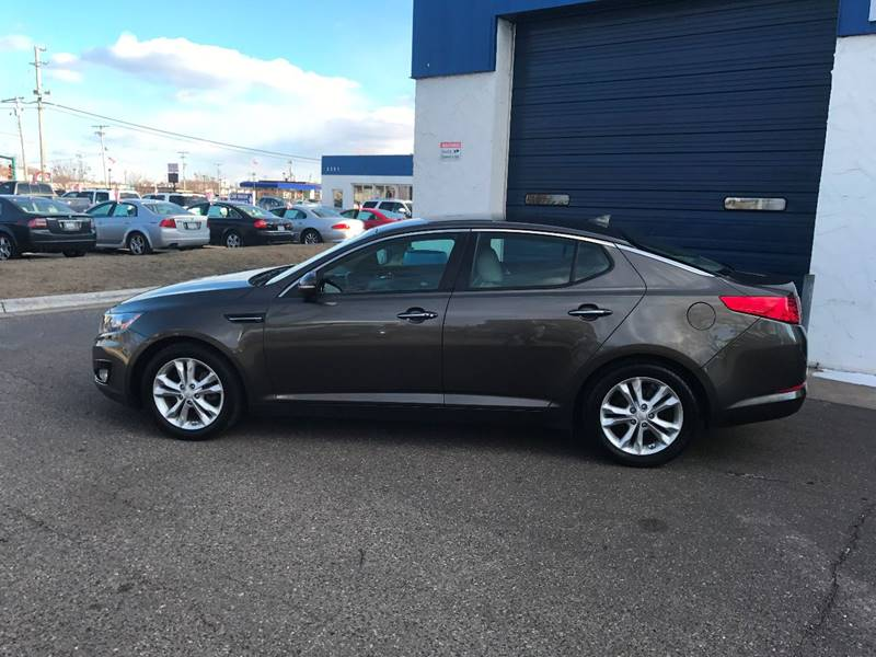 2013 Kia Optima EX 4dr Sedan - Crystal MN