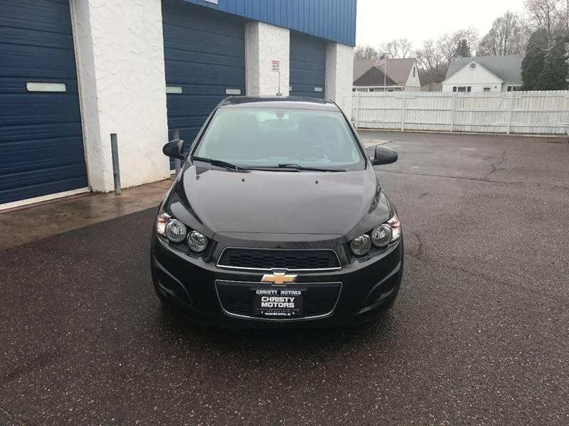 2015 Chevrolet Sonic LT Auto 4dr Sedan - Crystal MN