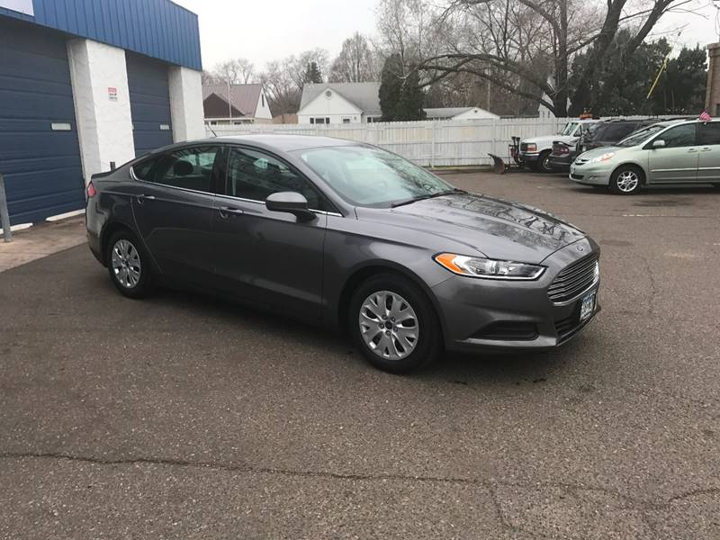 2014 Ford Fusion S 4dr Sedan - Crystal MN