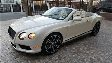 2015 Bentley Continental GTC V8 S for sale in Queens, NY