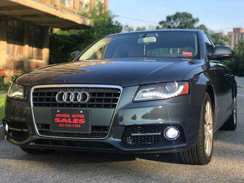2009 Audi A4 for sale at Arundel Motor Sales in Arundel ME