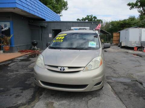 2006 Toyota Sienna for sale at AUTO BROKERS OF ORLANDO in Orlando FL